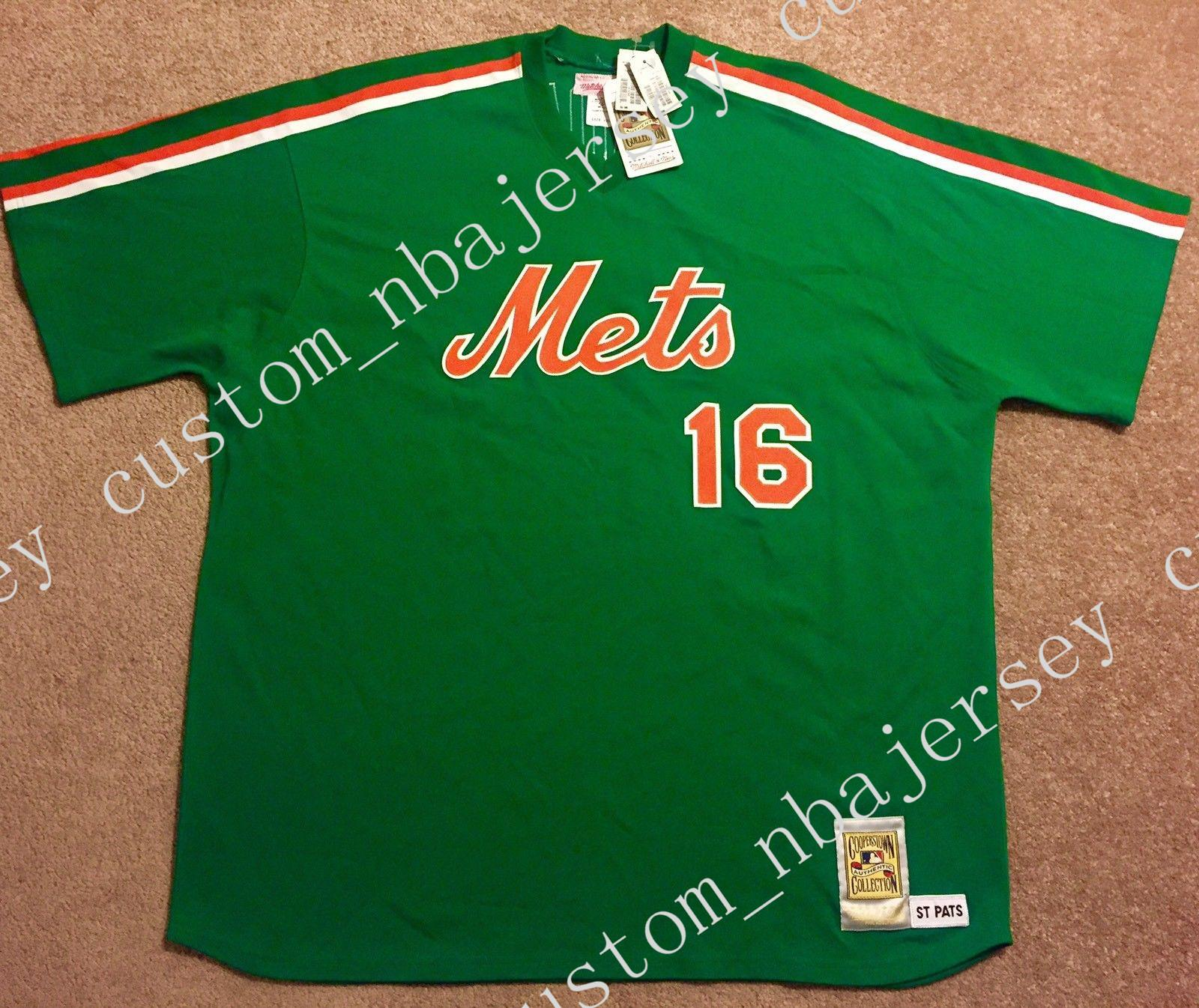 new arrivals 52b74 2861e cheap custom NEW DWIGHT GOODEN 1985 ST.PATS DAY JERSEY Stitched Customize  any number name MEN WOMEN YOUTH XS-5XL