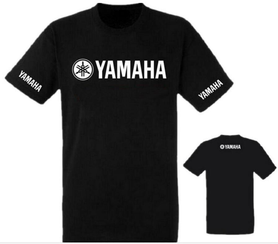 Hombres Suzuki Nueva 100Algodón Kawasaki Motocicleta Camiseta Yamaha Marca Verano 2019 Manga Camisetas De Corta bf67gy