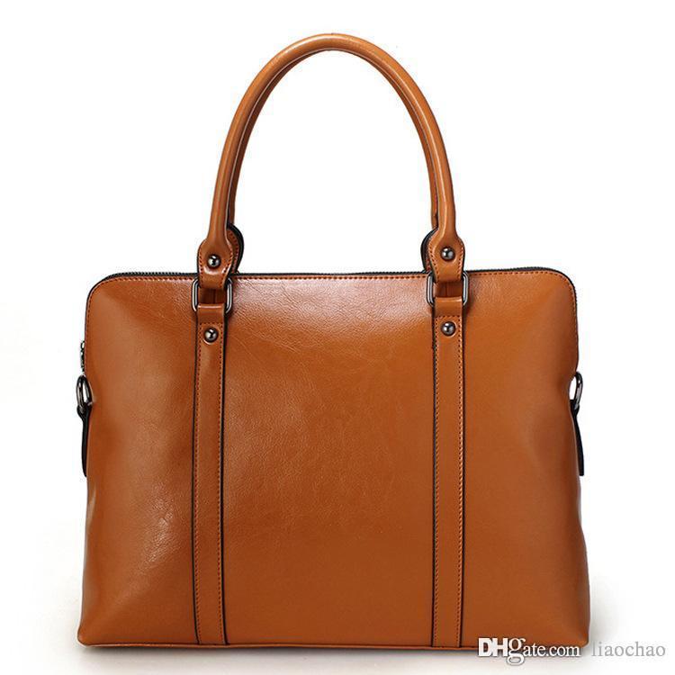 7dbf93cc69ae6 Großhandel Handtaschen Frauen Umhängetaschen Modedesignerin Taschen  Geldbörsen Damen Ledertaschen Weibliche Business Taschen Von Liaochao