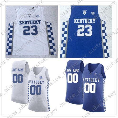 big sale e8772 e9159 Custom Kentucky Wildcats Basketball Jerseys 3 Keldon Johnson 14 Tyler Herro  22 Reid Travis 25 Washington Jerseys Stitched Any Name Number