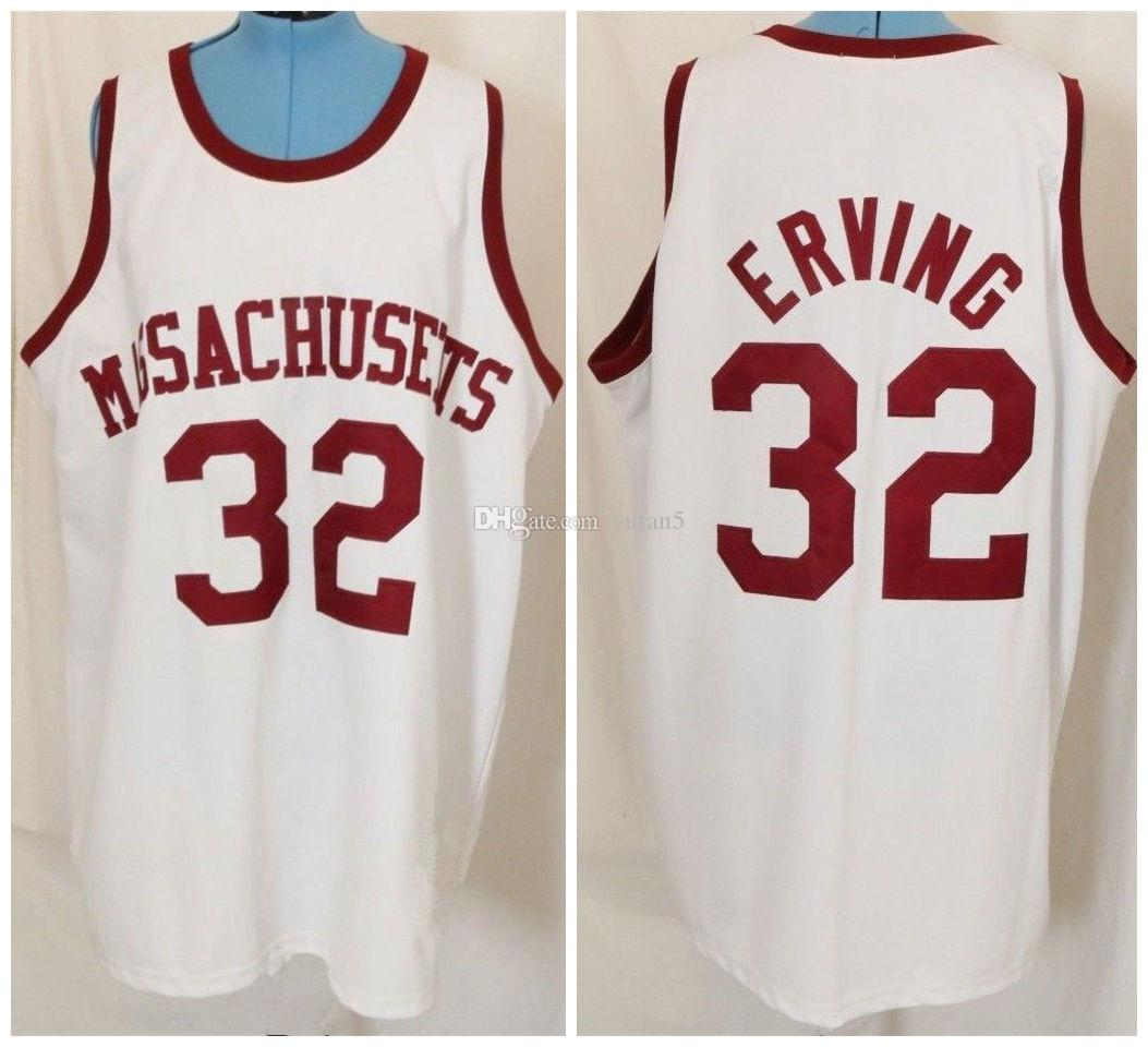 2c60fef2b3f8 2019 Massachusetts UMass College  32 Julius Dr. J Erving Retro Classic Basketball  Jersey Mens Stitched Custom Number And Name Jerseys From Yufan5