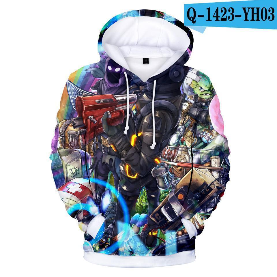 56f78879a7ea2 Men Fortnite Hoodies 3D Cartoon Print Pullover Jumpers Sweatshirt Autumn  Winter Unisex Couple Long Sleeve Hoodie Sweater1029 Men Fortnite Hoodies 3D  Print ...