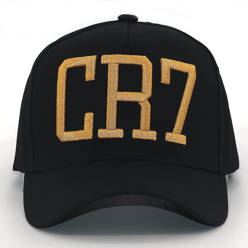 c6e24aec345 Cristiano Ronaldo CR7 3D Embroidery Baseball Cap Cr7 Football Hat For Men  Women Fashion Snapback Hats Outdoor Sports Caps Snapback Cap Cool Hats From  ...