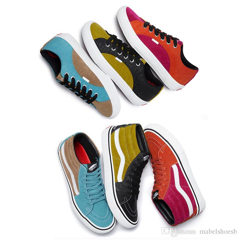 db4e00e16a6 Compre Supre Van Lampin PRO Sapatos De Skate UltraCush HD Convas Skate Tênis  Esportivos Das Mulheres Dos Homens De Moda Casual Tênis De Mabelshoesb