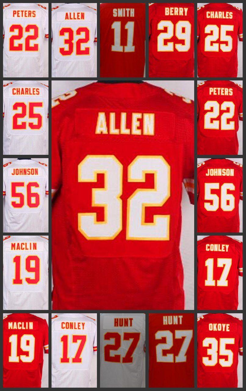 hot sales 7017f f5f16 Kansas City Limited Chiefs Men Jersey #56 Derrick Johnson 11 Alex Smith 32  Spencer Ware 17 Chris Conley Women Youth Embroidery Jerseys