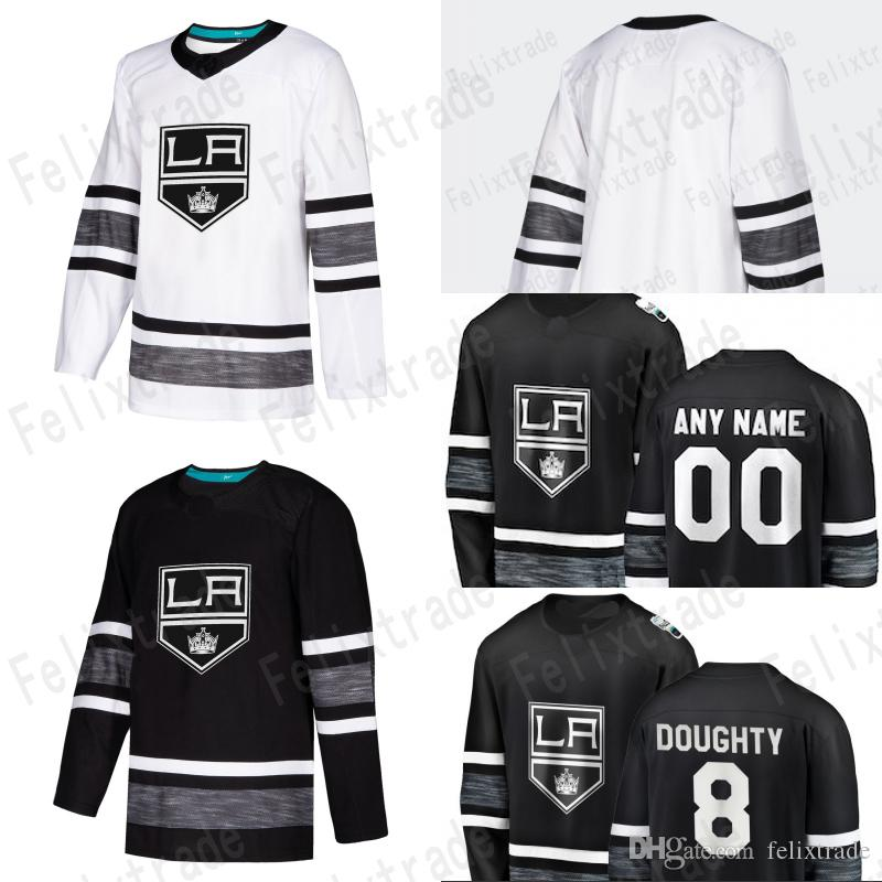 Los Angeles LA Kings Parley 2019 ALL STAR Jerseys Drew Doughty ... a7fec033e