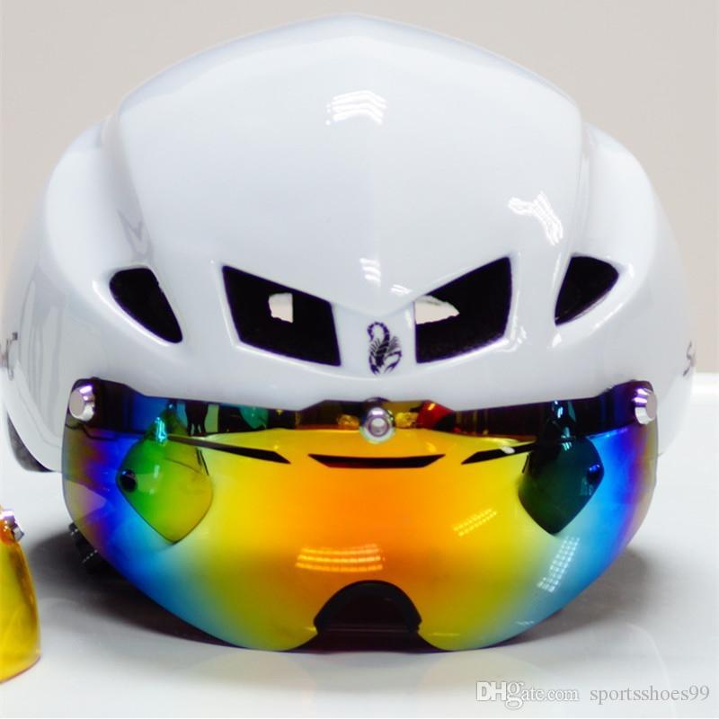 Herren Fahrradhelm Objektiv Visier Ersatz 3 Version Fahrrad Brillen Ersatz Fahrrad Helm Sonnenbrillen Radfahren Brillen Bike Lentes 214613