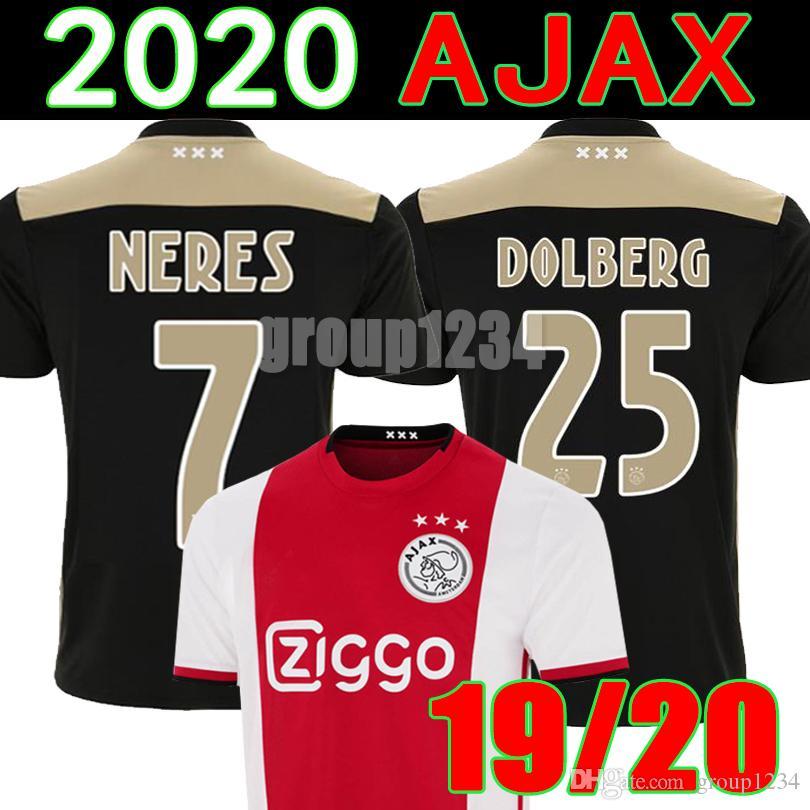 4216fc0bc Acheter 18 19 Ajax Soccer Jersey DE JONG DE LIGT Camiseta De Fútbol ...