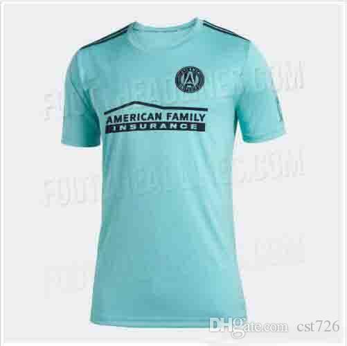 cheaper 89c60 11882 2019 Atlanta United Parley soccer jerseys 2020 BARCO #8 MARTÍNEZ atlanta  united MLS parley blue spirit football jersey shirt For the Oceans
