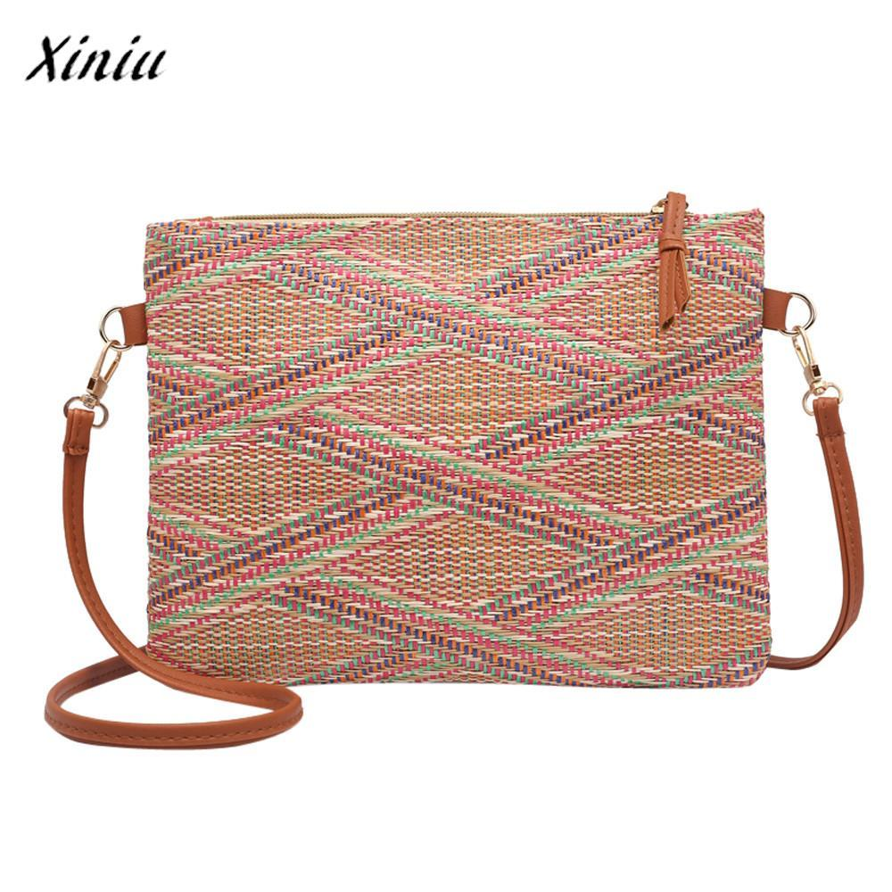 2a7226e055a Xiniu Fashion Luxury Handbags Women Bags Designer Girl Weave Bags ...