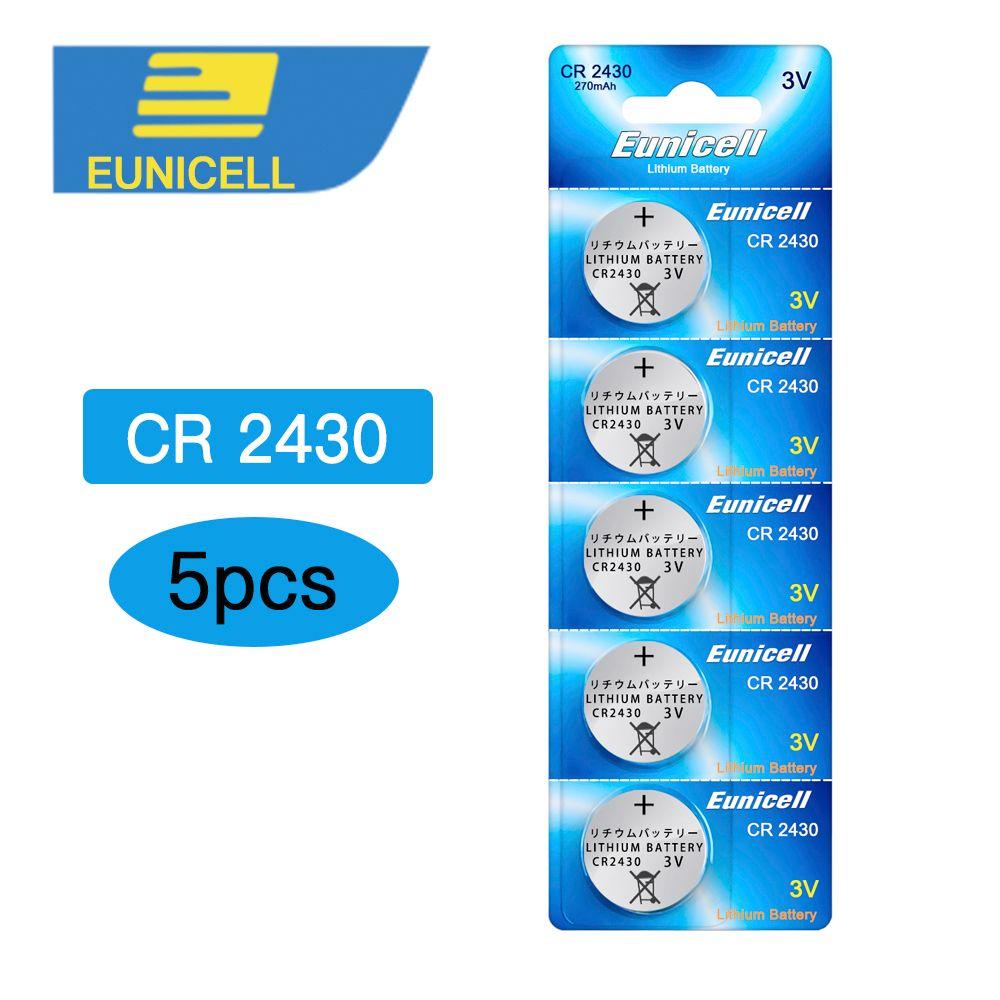 coin 5pcs CR2430 DL2430 ECR1620 5011LC KCR2430 L20 Lithium Button cell Coin  for watch,5pcs CR2430 Battery XINLU