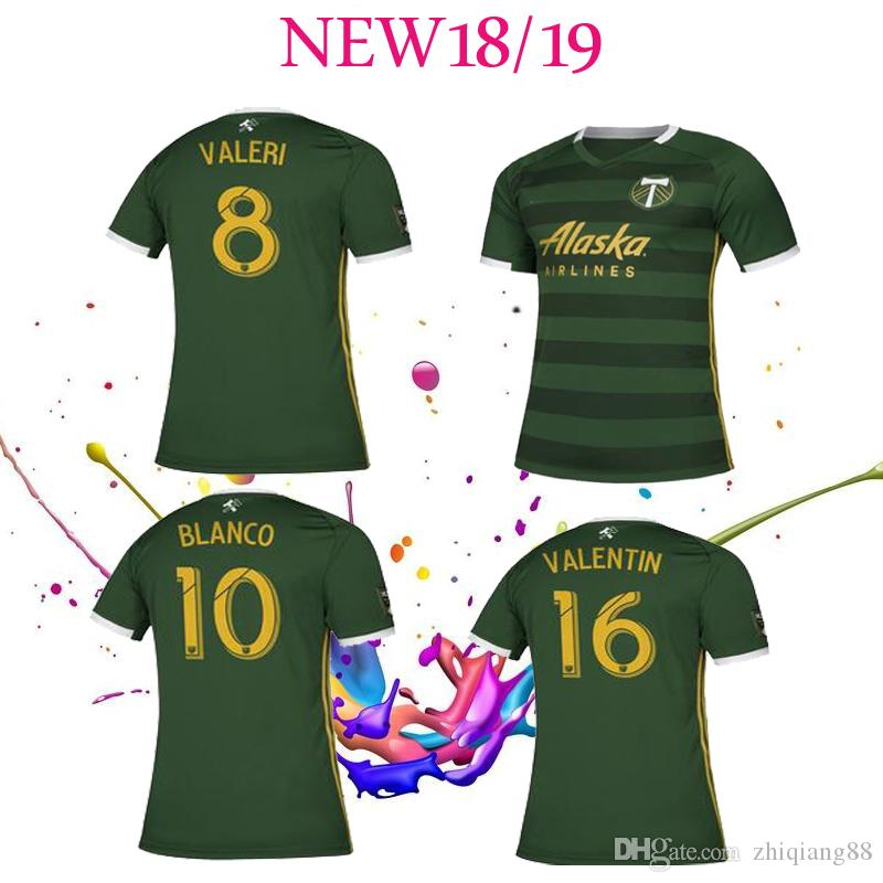 2019 NEW 2019 2020 PORTLAND TIMBERS Home Green Soccer Jerseys PORTLAND  TIMBERS Soccer Shirt Customized BLANCO VALERI Football Uniform From  Zhiqiang88 701d0ed99