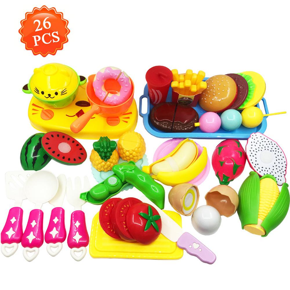 Play Kitchen For 5 Year Old | 2019 Cutting Cooking Food Sets Pretend Play Kitchen Kits Toy Early