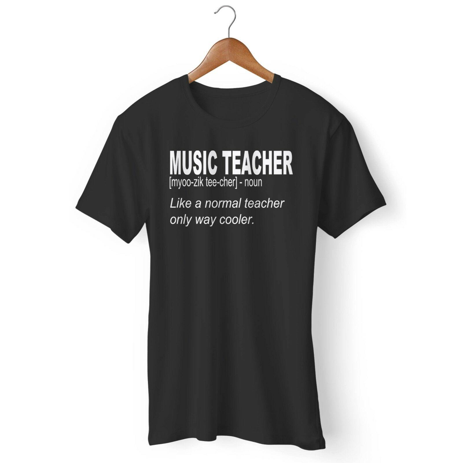 450d86b84c7f Music Teacher School Teacher End Of School Man's and Woman's T-Shirt  Harajuku Summer 2018 Tshirt Tees Custom Jersey t shirt