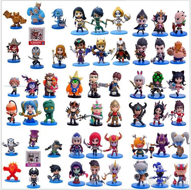 2019 Mix Items LOL Action Figure Birthday Gift Ornaments Animation