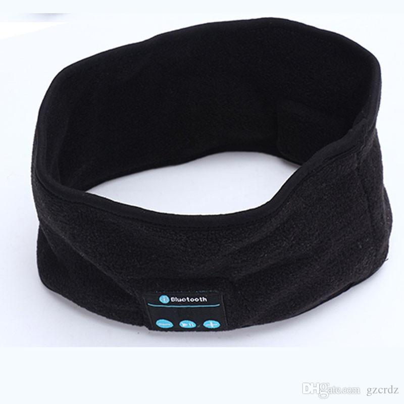 Fashion Wireless Warm Bluetooth Headband Smart Caps Headphone Headset Speaker Mic Cap For Sport Yoga Unisex
