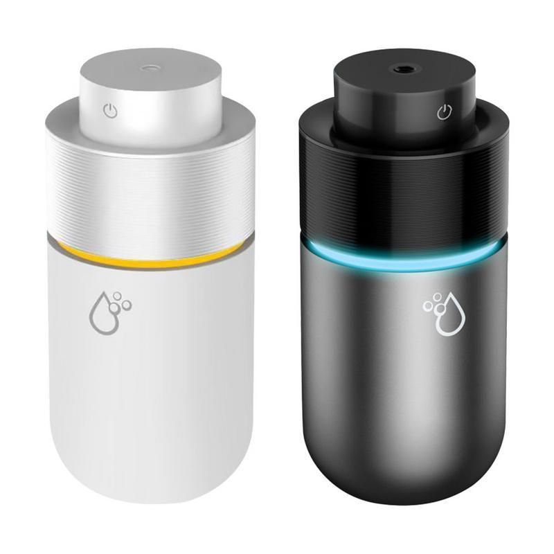 Car Humidifier Sprayer 2 in 1 USB Quiet Vehicle Essential Oil Diffuser Air Freshener Portable Home Machine LED