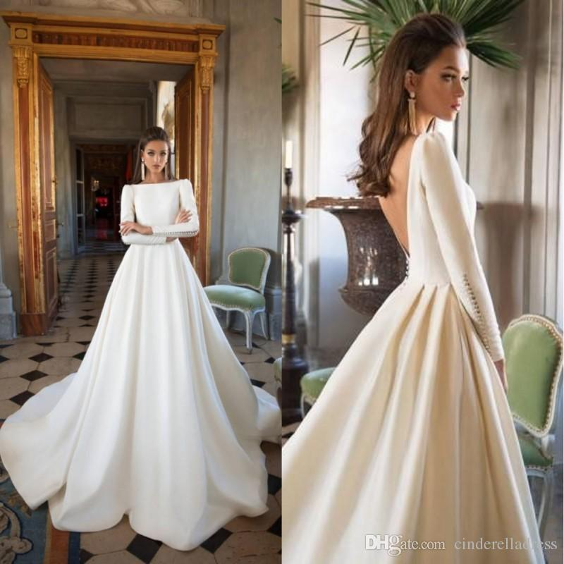 Discount Designer Wedding Gowns: Discount 2019 Designer Milla Nova Wedding Dresses A Line