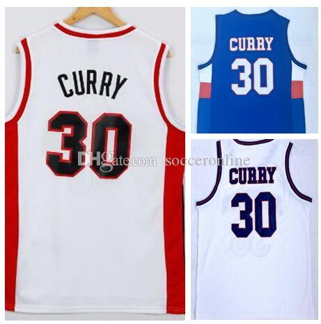 cd6b2368373 2019 30 CURRY College Basketball Wear Jerseys