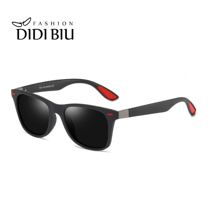 Compre Clássico Polarized TR90 Retângulo Óculos De Sol Dos Homens Da Marca  Rebite UV400 Revestimento Condução Óculos Tendência Anti Glare Sombra  Goggle ... 8428ecc1e8