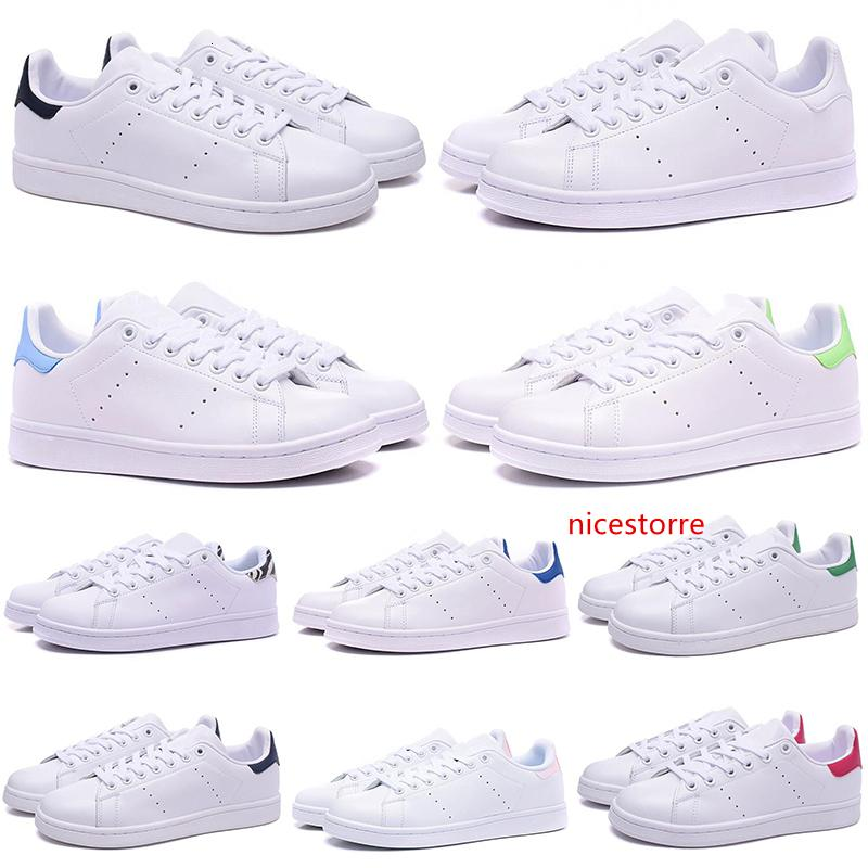 Free Shipping Stan Smith Designer casual shoes for men women black white green flat Leather mens trainers Sports Sneakers shoe size 36-44