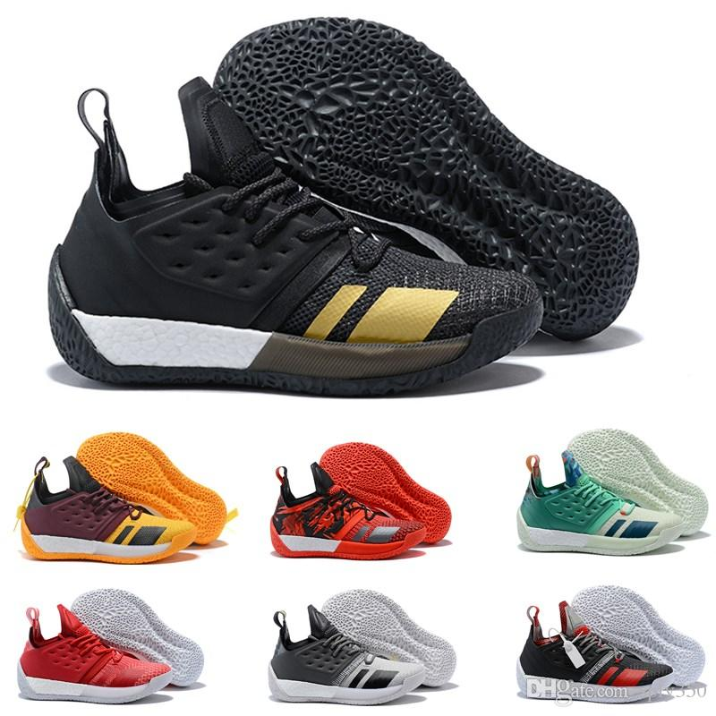 ad87a85773 Großhandel 2019 New James Harden Vol.2 Orange Grün Basketballschuhe Herren  Härten Vol 2 Athletic Sports Sneakers Zum Verkauf Größe 41 46 Von Sply350,  ...
