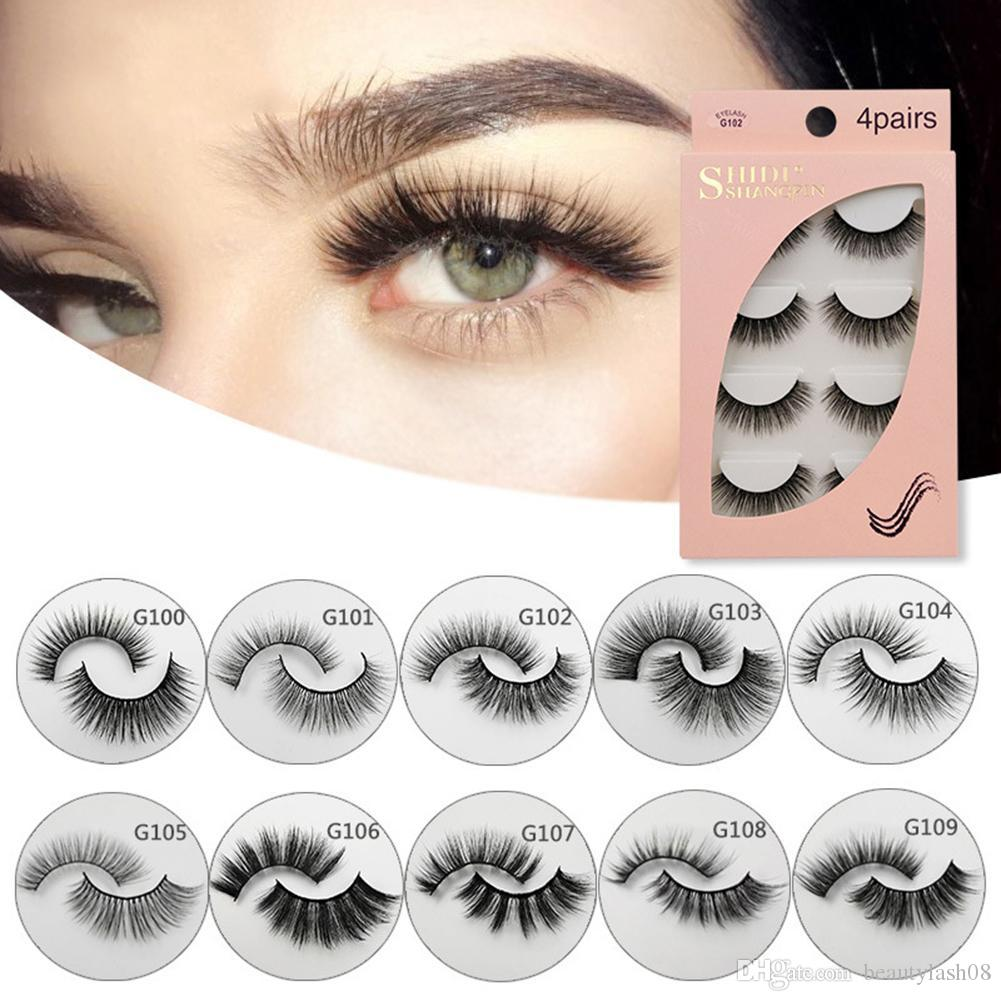 fb117434918 Natural False Eyelashes Full Strip Fake Lashes Thick Long 3D Mink Lashes  Eyelash Extension For Makeup Beauty Maquiagem Car Eyelashes Fake Lashes  From ...