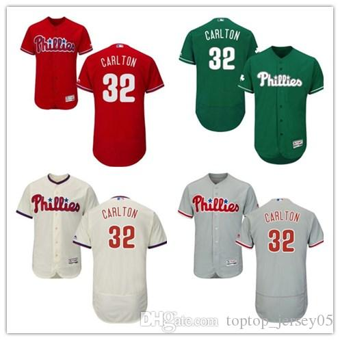 2019 2018 Philadelphia Phillies Jerseys  32 Steve Carlton Jerseys  Men WOMEN YOUTH Men S Baseball Jersey Majestic Stitched Professional  Sportswear From ... fecf07b1422