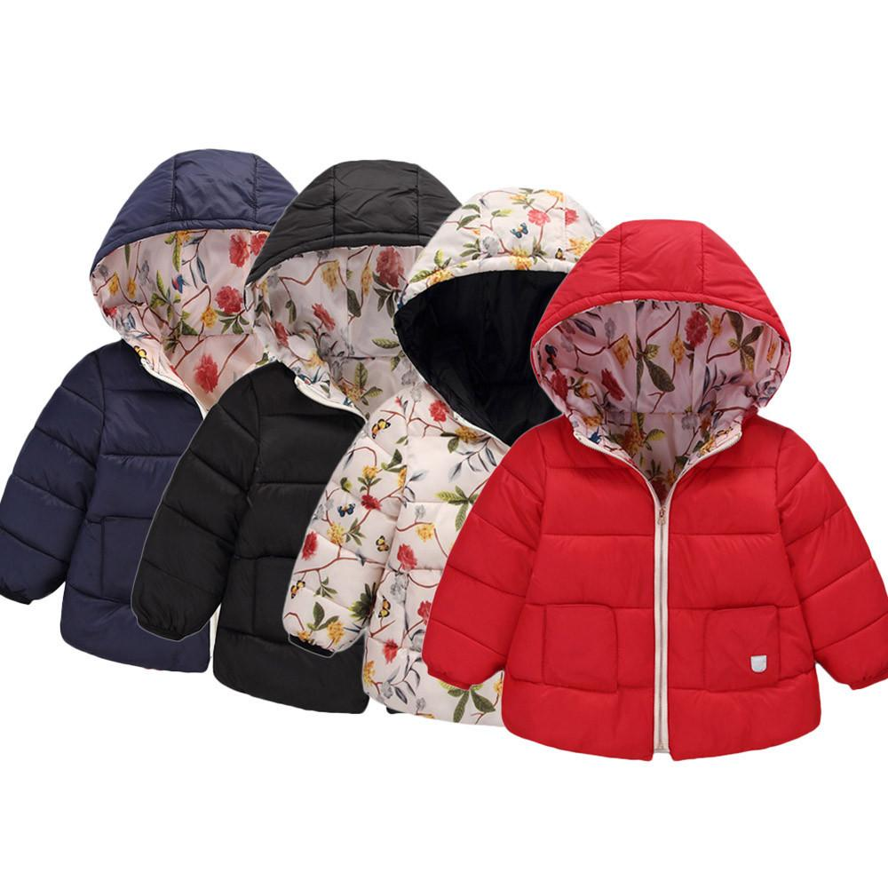 e30241119 Good Quality Fashion Coat Baby Girl Boy Winter Clothes Hooded Coat ...