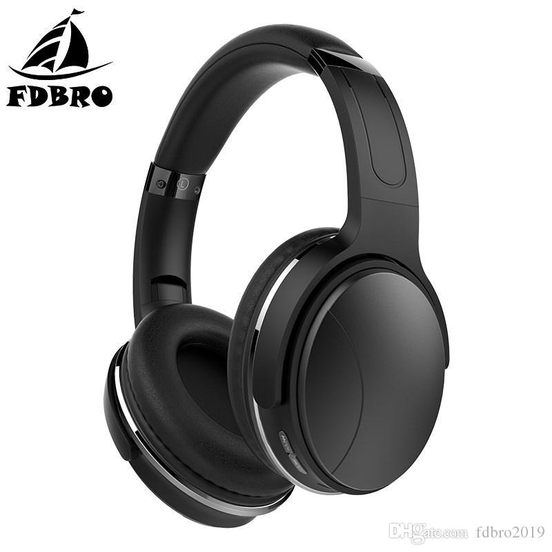 9af36a2e4d5 FDBRO Bluetooth HiFi Stereo Earphone Active Noise Cancelling ...