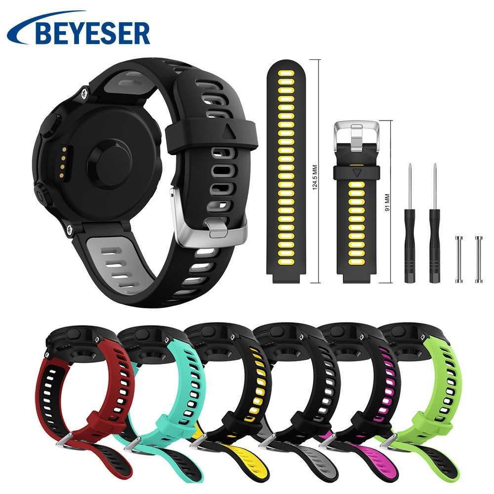 For Garmin Forerunner 735 Coloful Watchband Replacement Watchwrist