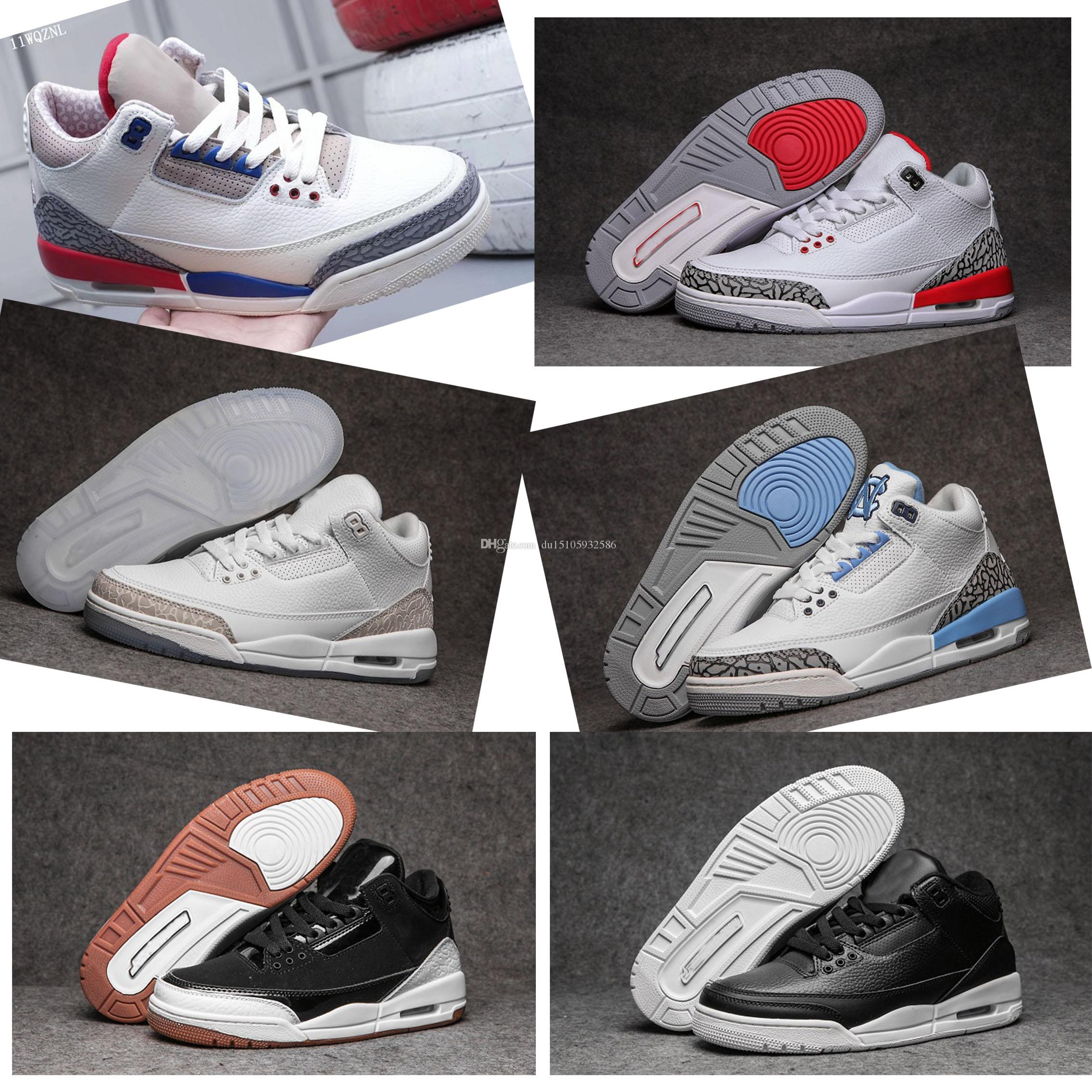 online retailer 266dd 94dad 2019 new high quality 3 USA International Pack Charity Game White Blue Red  3S men Shoes Sail Sport Royal-Fire Red casual shoes 136064-140
