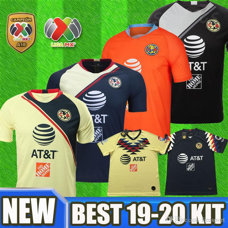 f1afb8b94 2019 NEW Thailand 2019 2020 Club America Soccer Jerseys Home Away Third 18  19 20 Apertura A18 CAMPEON LIGA MX A.PULIDO Football Shirts From Firesport