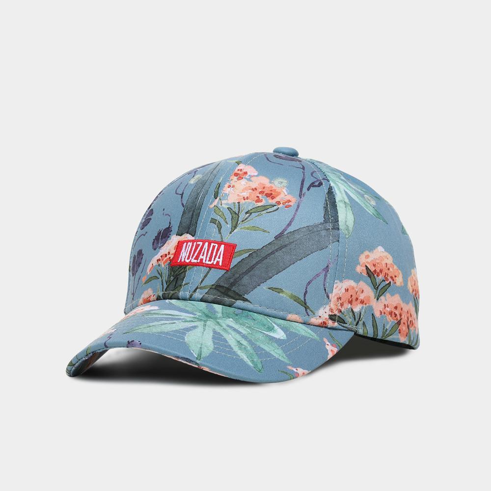 6fc2d3b2d95ea New Style Print Baseball Cap Ladies Flower Cotton Baseball Cap Small Fresh  Hat Simple And Stylish Women s