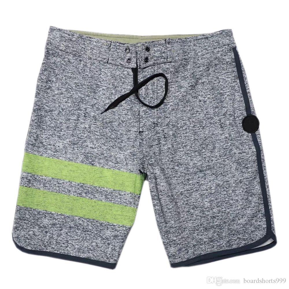 e113f162bbc37 2019 4Way Stretch Fashion Shorts Spandex Mens Swimming Trunks Quick Dry  Surf Pants Swim Pants High Quality Beachshorts Board Shorts Swim Trunks From  ...