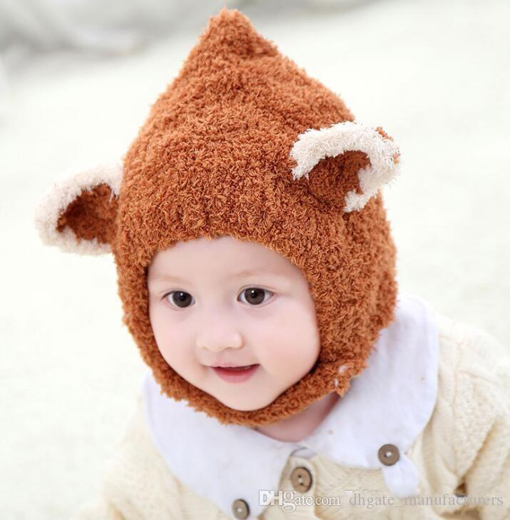 Großhandel Neue Schöne Fuchs Ohr Winter Winddicht Hüte Schal Für