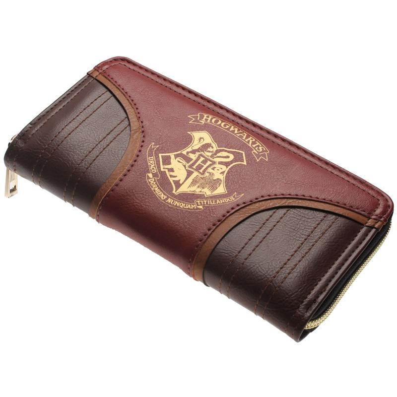Harry Potter Letter Zip Around Pu Long Fashion Women Wallets Designer Brand Purse Lady Party Wallet Female Card Holder Q190505