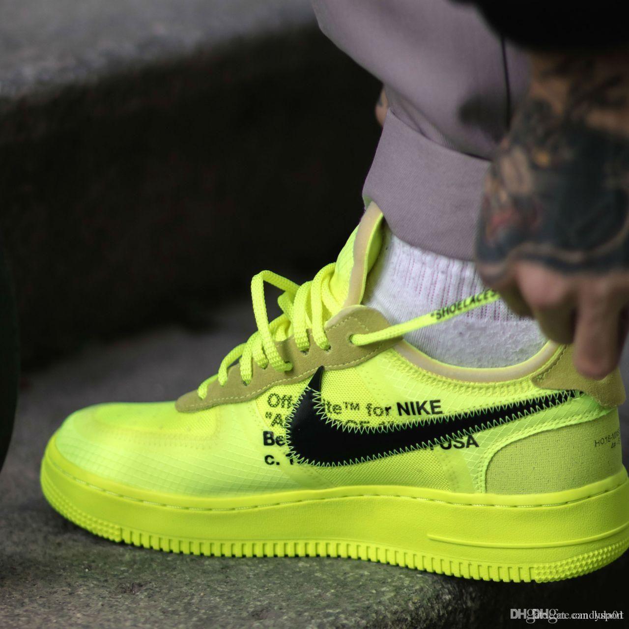 Gros Une En Nike Forces De Coussin Course 1 Airs Nouveau Pour 10x Utility Force Low Air Flyknit Chaussures Hommes JluKTcF135