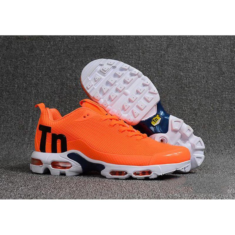 df37253b03 2019 Orange Black Men Mercurial TN Chaussures TN Mens Outdoor ...
