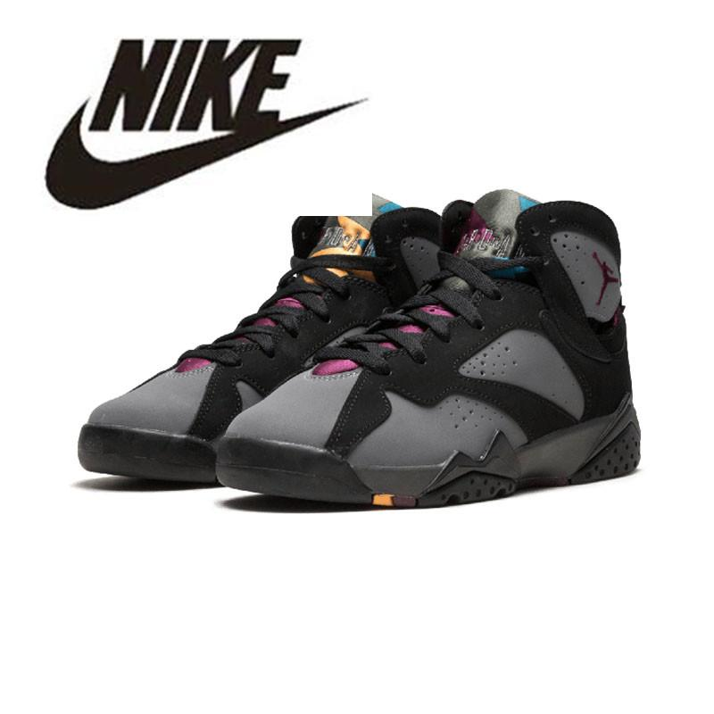 a8cd09eb60ba 2019 Nike Air Jordan Retro 7 Basketball Shoes Jordan VII Jordans Air 7S Men  Women Trainers Hare Raptor Bordeaux Hare Tinker Alternate French Blue  Sweater ...
