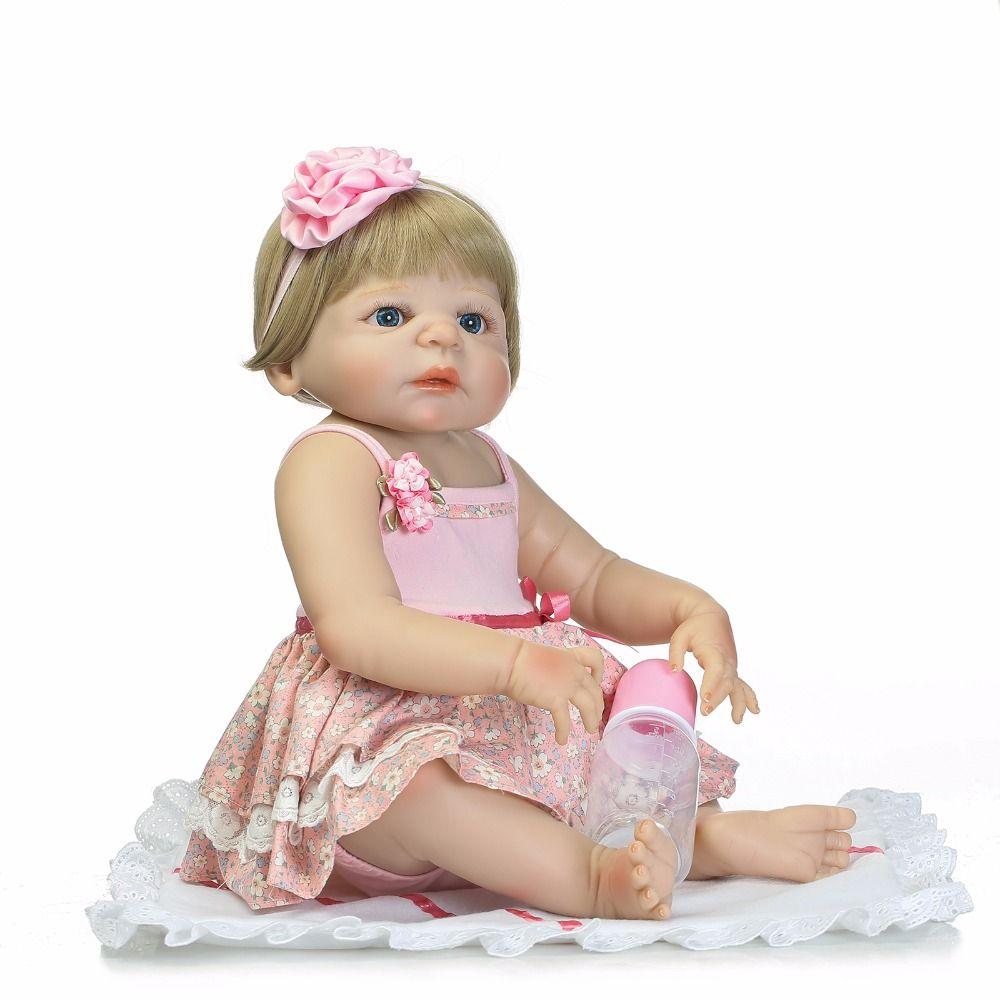 61f3630fd1b Bebe Reborn corpo completo silicoen bebe reborn menina bonecas de silicone  macio vinil real toque suave bebe recém-nascido real bebê renascido