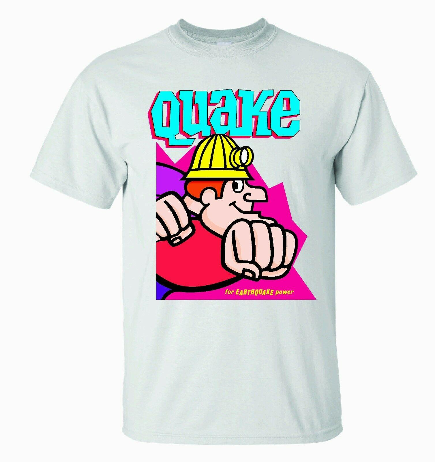 4f753af439a00 QUAKE CEREAL T-SHIRT / QUAKER QUISP QUANGAROOS RELATED- BEAUTIFUL GRAPHICS!  Gift Print T-shirt,Hip Hop Tee Shirt,NEW ARRIVAL tees