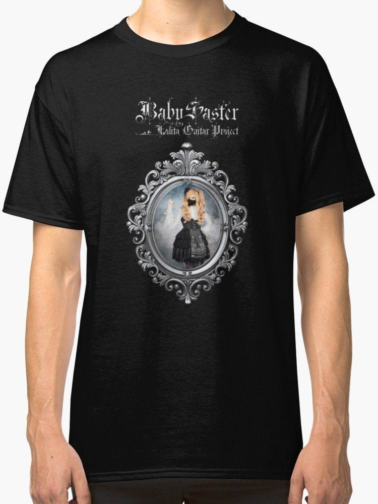 BabySaster - Lolita Guitar Project Men's Black T Shirt S-2XL Size Discout Hot New Tshirt Hoodie Hip Hop T-shirt