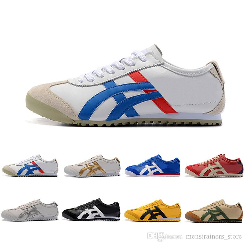 premium selection 481a2 a7d89 Cheaper New Onitsuka Tiger Running Shoes For Men Women Athletic Outdoor  Boots Brand Sports Mens Trainers Sneakers Designer Shoe Size 36-44