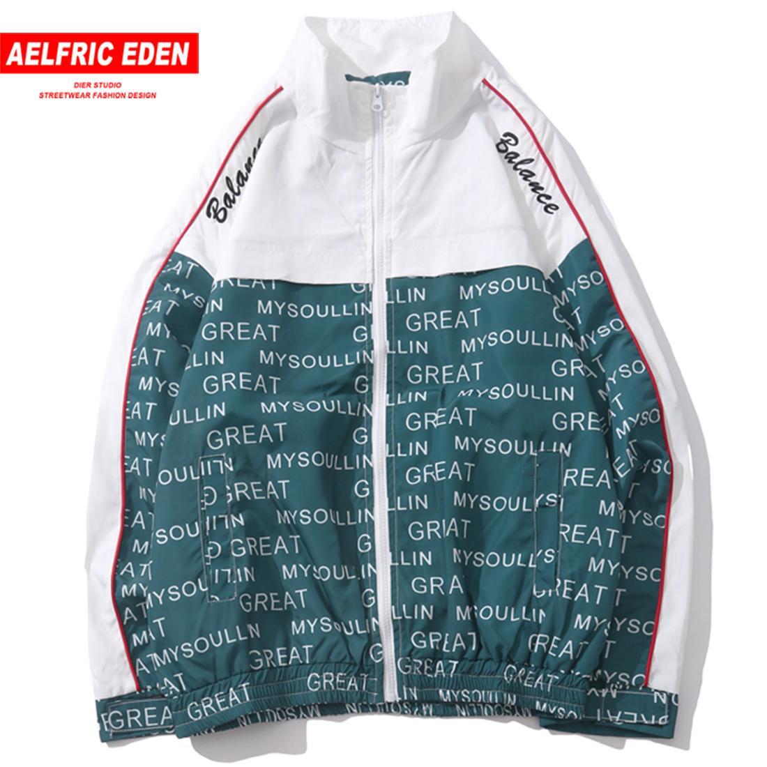 cef3ee3b4dea0 Compre Aelfric Eden Harajuku Outwear Streetwear Urbano Hombres Hip ...