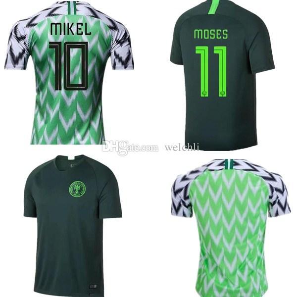 819a720c2 2019 Thai Version 2019 World Cup NigeriA Soccer Jersey MUSA Ighalo ...