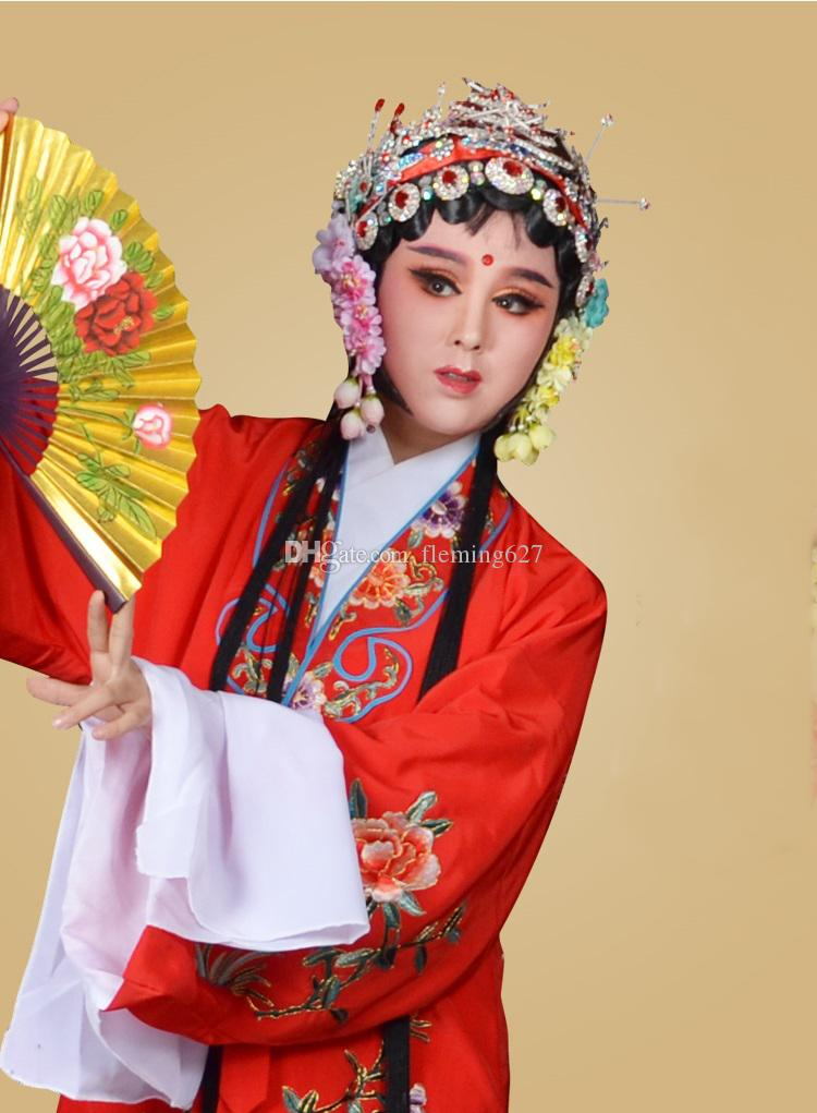 6db16e45a 2019 Embroidery Flowers Chinese Drama Clothing Long Sleeves Woman Classical  Dance Dress Peking Opera Costume Stage Wear From Fleming627, $151.76 |  DHgate.