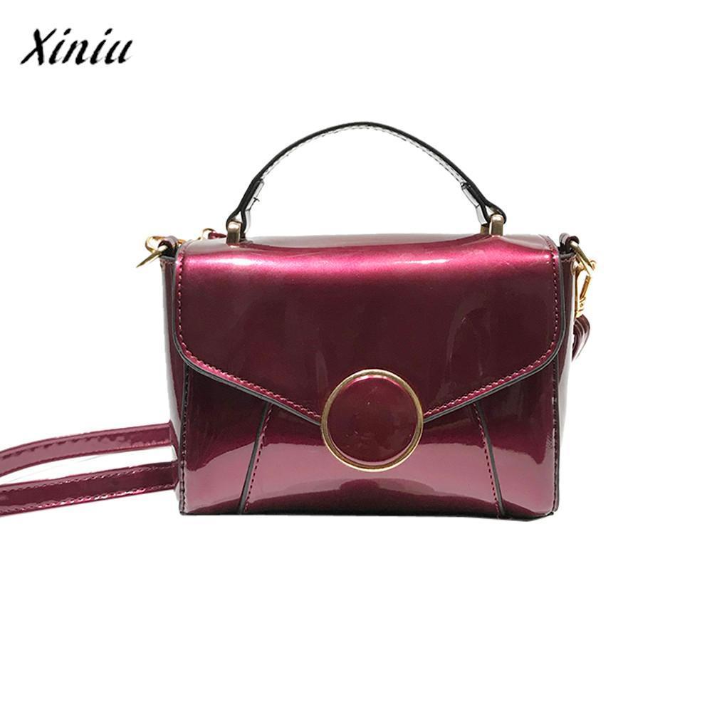 41d279343ce9 Xiniu Fashion Luxury Handbags Women Bags Designer Glossy Leather ...