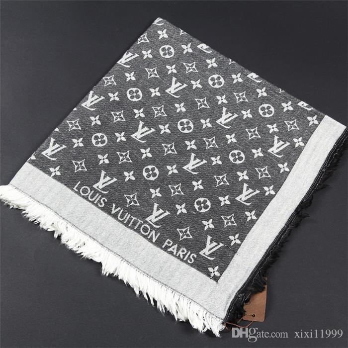 22 color wholesale designer scarf luxury shawl women's cotton scarf size 140*140 cm square shawl scarf