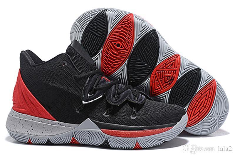 size 40 09363 35eff Acquista 2019 New Kyrie 5 V Nero Rosso Magic Multi Color Scarpe Da Basket  Irving 5 Sport Sneakers Rosa Irving Scarpe Da Basket Taglia 32 46 A  31.02  Dal ...